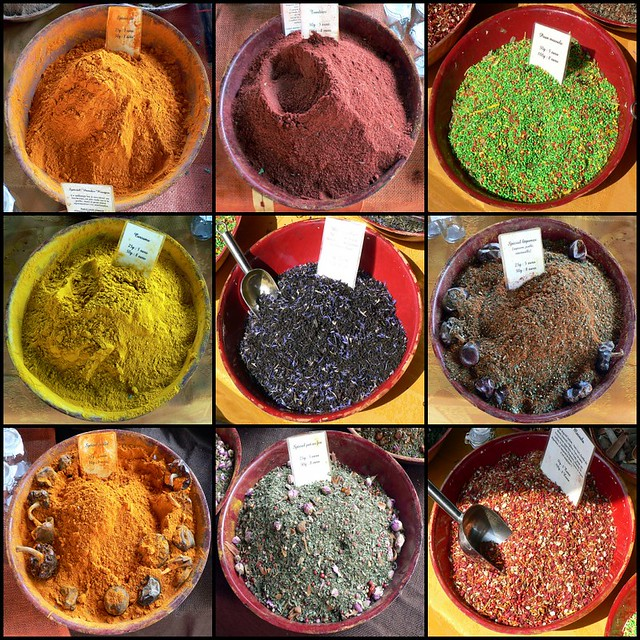 Squircled spices