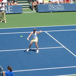 Kim Clijsters Backhand Volley