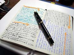 Plain Notebook Macht Frei.