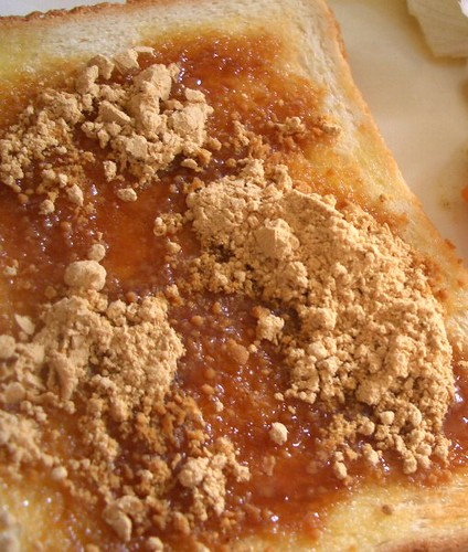 toast soybean flour