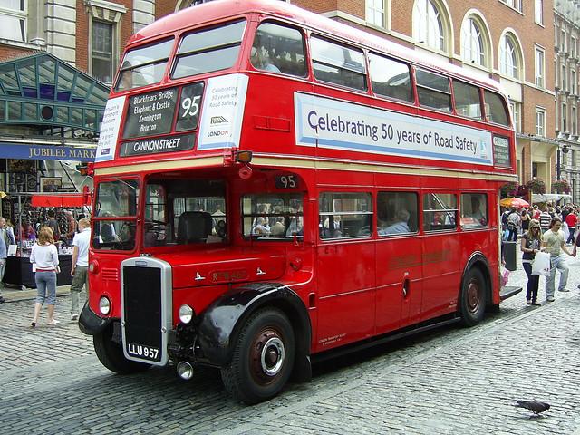 Vintage London Bus 102