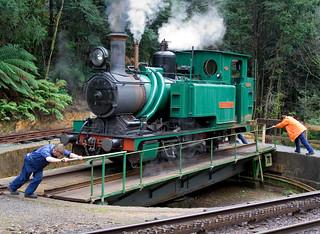 Tasmania ABT railway