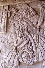 Mayan style carving www.ecclestongeorge.co.uk