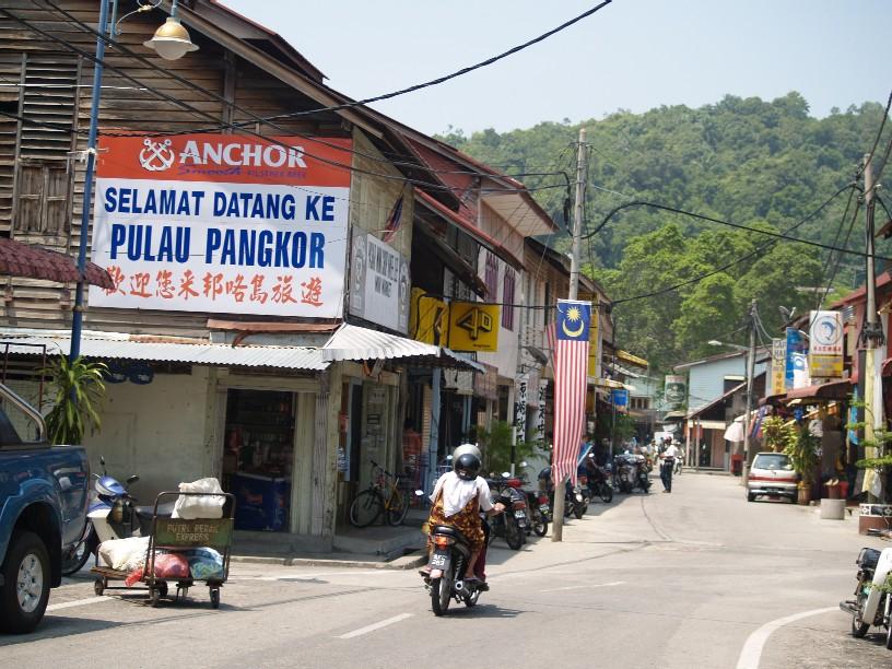 Pulau Pangkor town