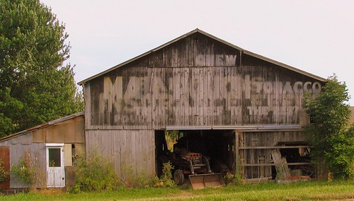 Mail Pouch Tobacco barn in Kentucky