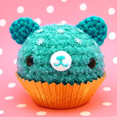 Amigurumi Cupe Cake Debutany