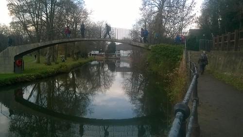 Footbridge over River Wey, Guildford