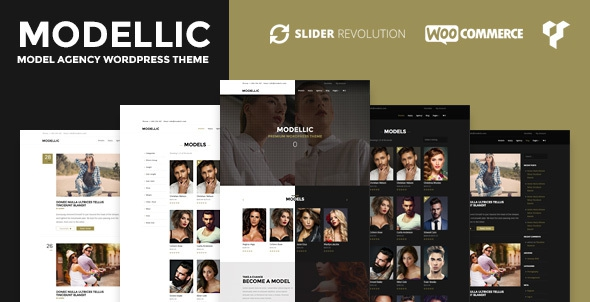 Modellic v1.0.9 - WooCommerce & Booking Model Agency