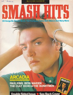 Smash Hits, October 23, 1985