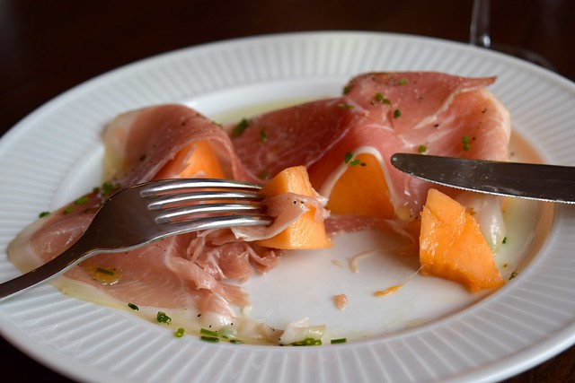 Melon & Ham at Cote, Canterbury