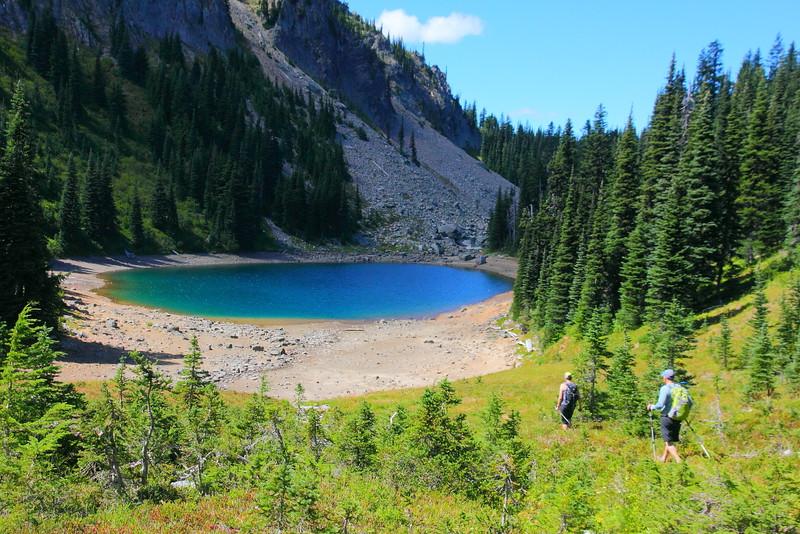 IMG_6246 Upper Palisades Lake, Palisades Lakes Trail