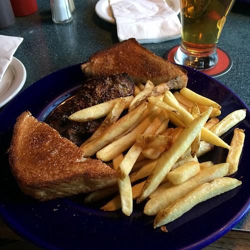 Steak sandwich #yegfood