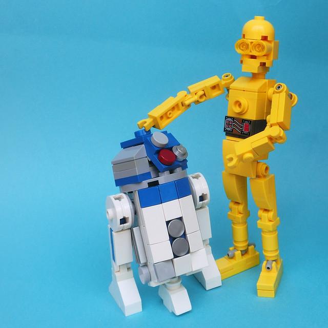 LEGO: R2-D2 & C-3PO
