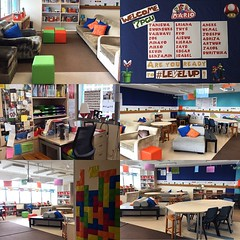Finally! This learning space is ready. All it needs now are middle school readers and writers! Looking forward to learning with this year's bunch! #cantwait #year4 #uwcsea_east #mario #levelup #tcrwp