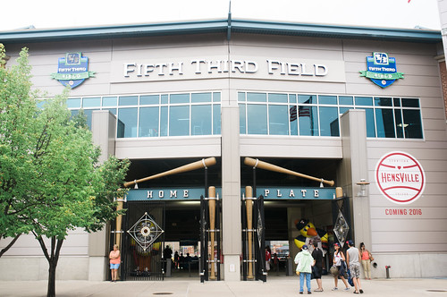Fifth Third Field, Home of the Toledo Mud Hens.
