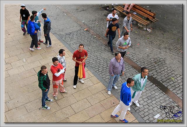 Briviesca en Fiestas 2.015 Segundo encierro Sopas de ajo y encierro infantil (9)