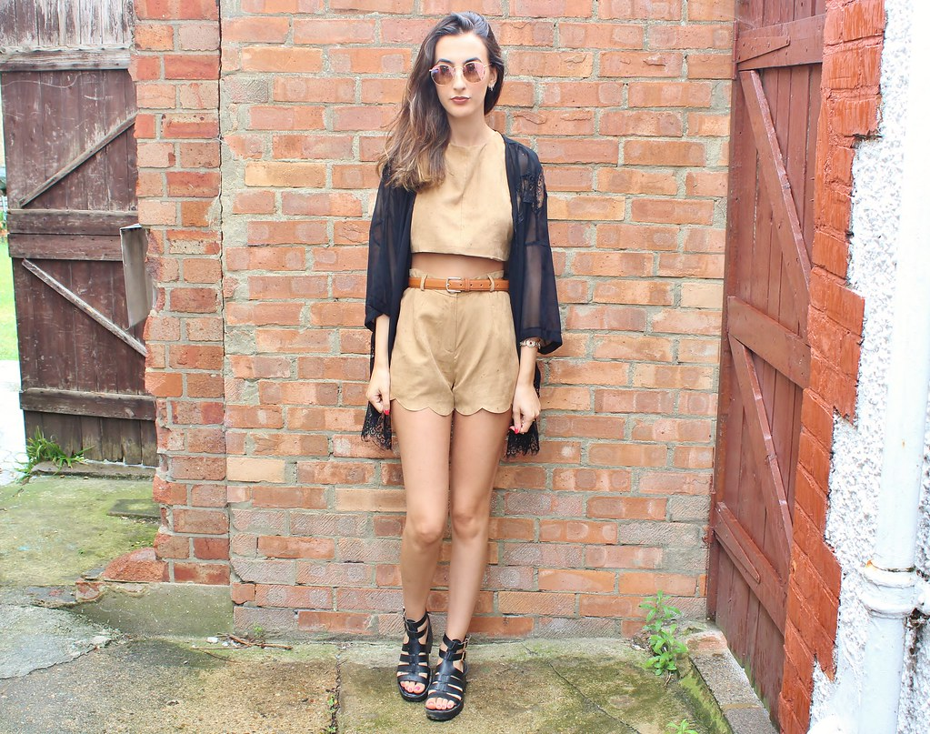 SUEDE CO-ORD