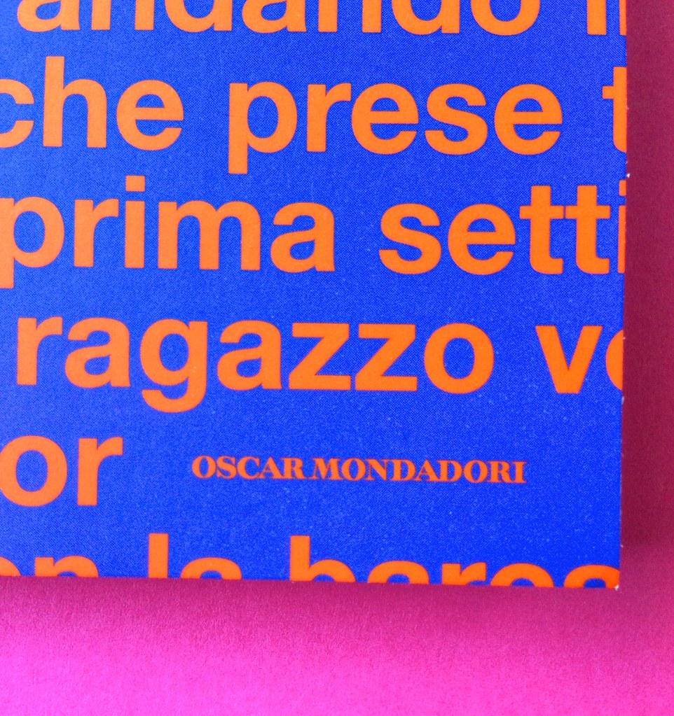 Oscar Mondadori / ied: edizione speciale di 10 titoli per i 50 anni degli Oscar. Art direction: Giacomo Callo. Copertina (part.) 11