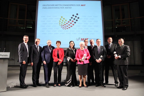 Verleihung des Mittelstandspreises 2015
