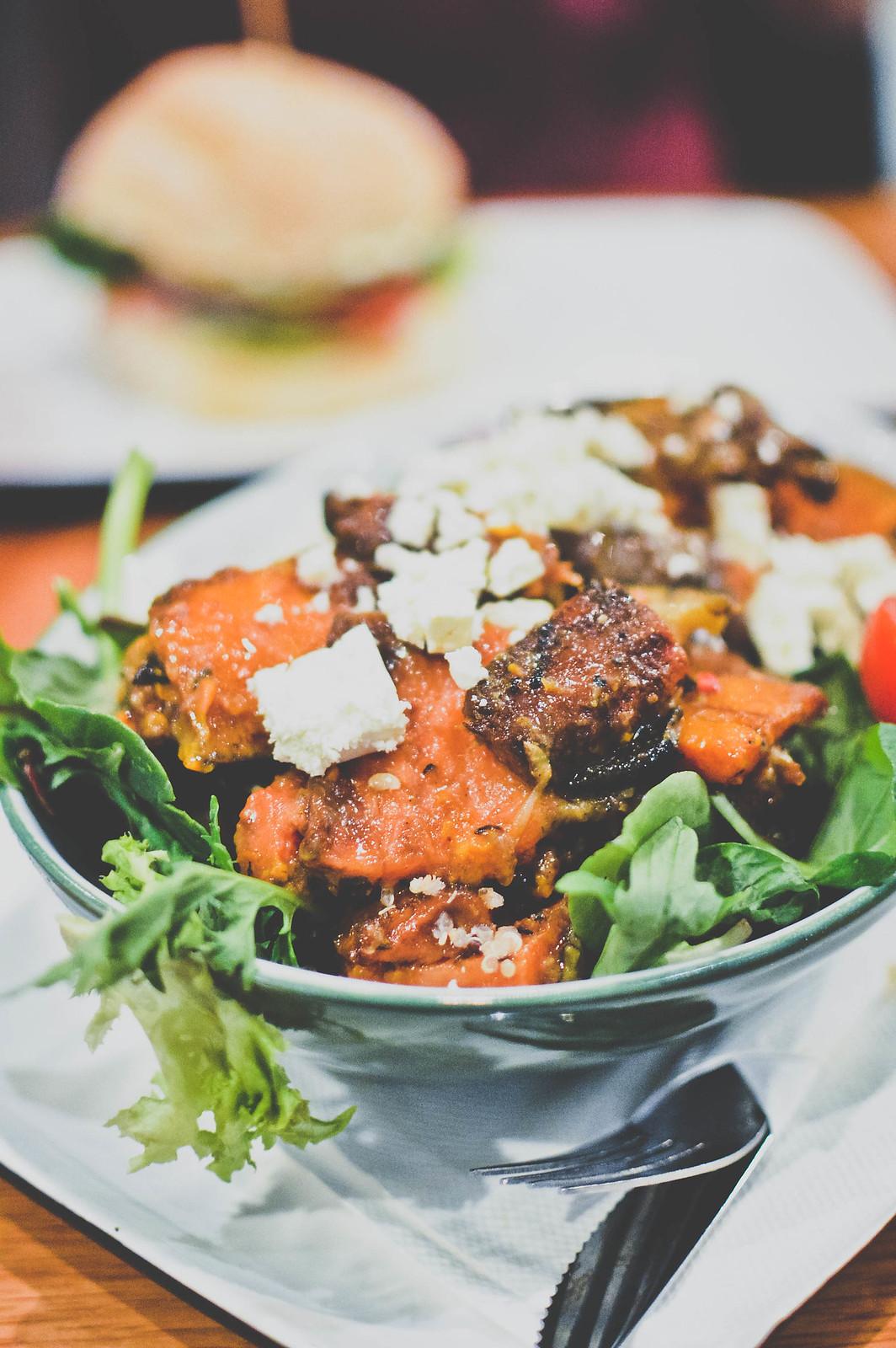 Mixed Vegetables & Dukkah Salad