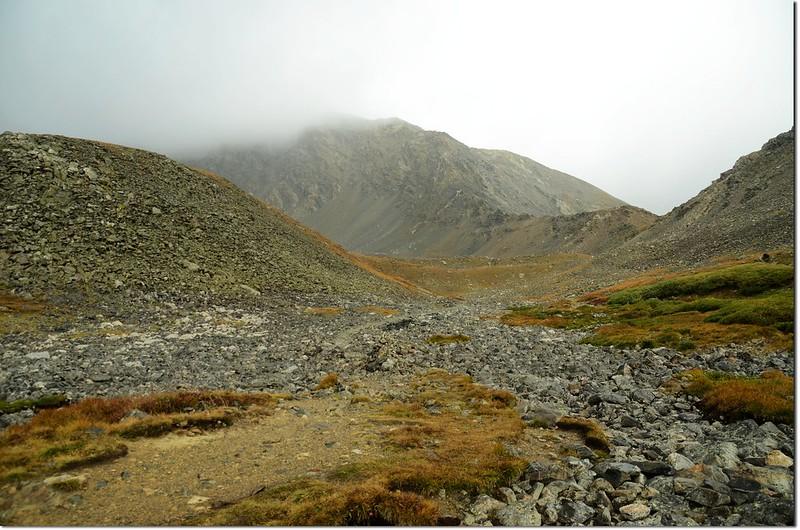 Torreys Peak from Stevens Gulch Creek