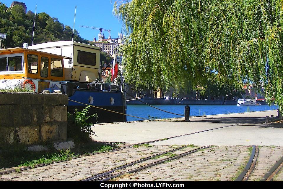Lyon, Rives de Saône