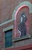 Charlie Chaplin mosaic, Swan Street, Leeds