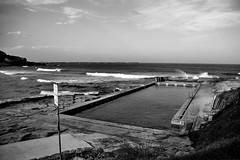 The ocean pool @ Main Beach, Yamba.