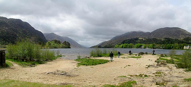 Loch Shiel from Level of Loch