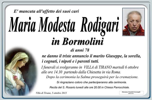 Maria Modesta Rodigari