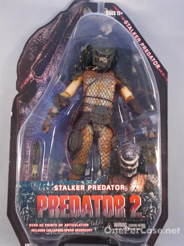 NECA Predators Wave 5 Stalker Predator 2 The Lost Tribe Action Figure Brother Boar (1)
