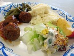 Sunday Dinner Plate.
