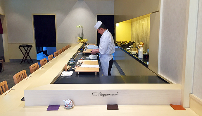 Yuzu 01 - Sushi Counter