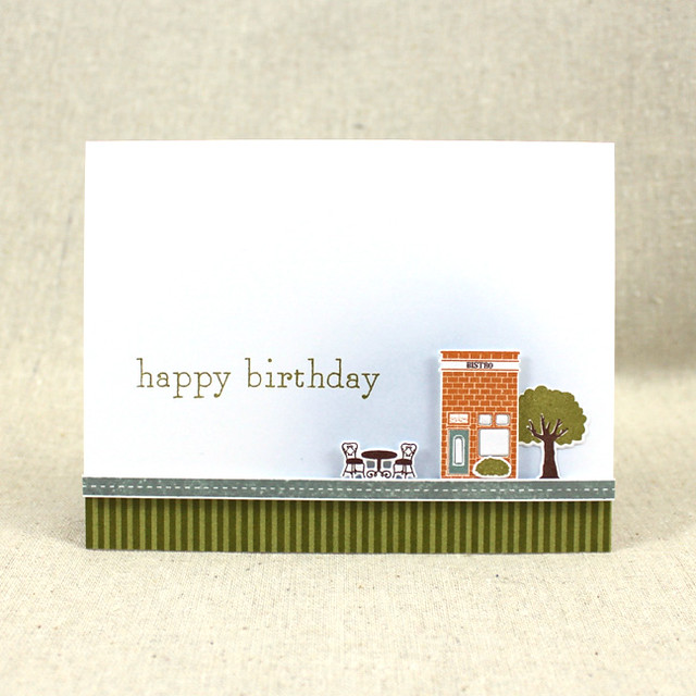Petite Places Summer Card
