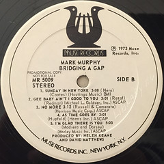 MARK MURPHY:BRIDGING A GAP(LABEL SIDE-B)