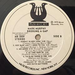 MARK MURPHY:BRIDGING A GAP(LABEL SIDE-B)