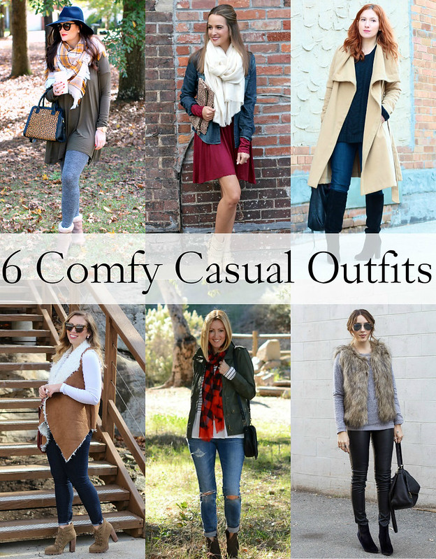 Comfy Casual Outfit Ideas