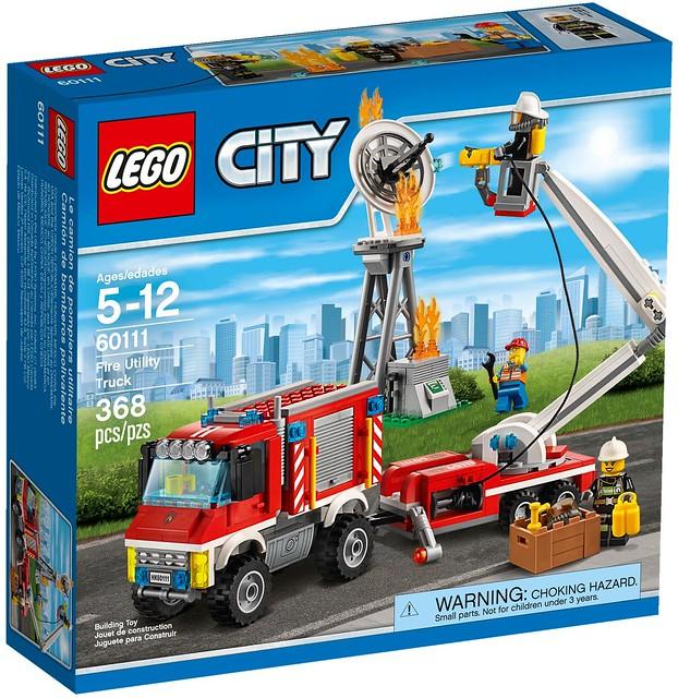 LEGO City 2016 sets   60111 - Fire Utility Truck