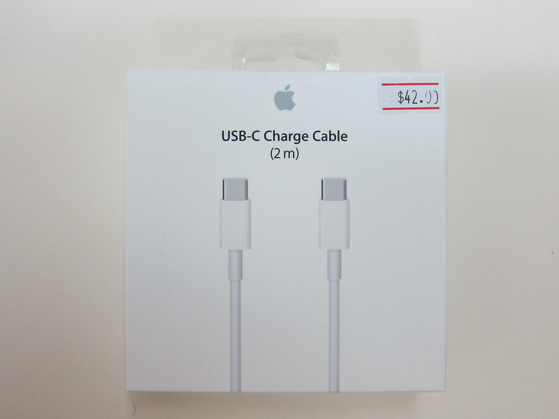 Apple USB-C Charge Cable (2m) - Box Front