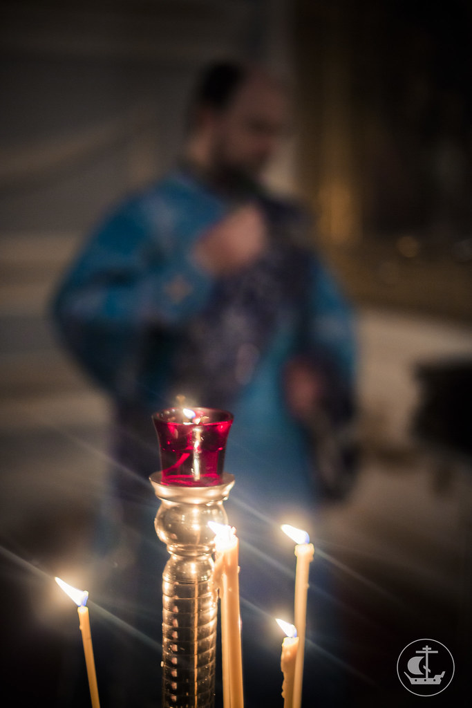 3 декабря 2015, Всенощное бдение накануне Введения во храм Пресвятой Богородицы / 3 December 2015, Vigil on the eve of the Most Holy Theotokos into the Temple