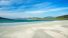 Paradise beach.  Scotland's islands