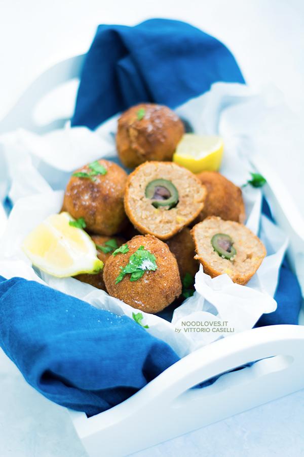 Crocchette ripiene di olive