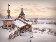 Winter .Borovsk.