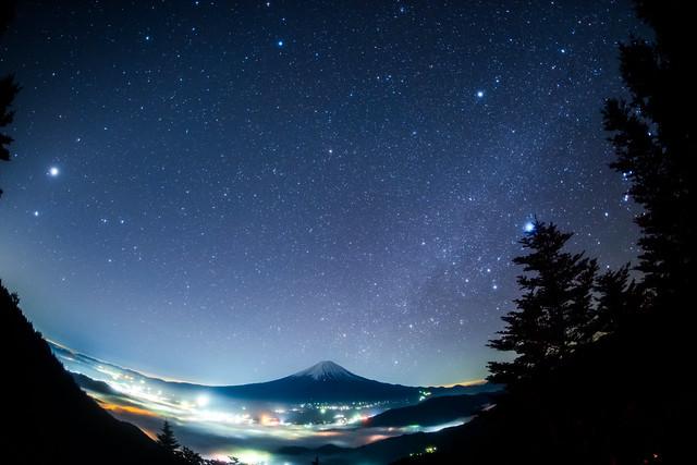 Hydra on Mt.Fuji, Nikon D810A, Sigma 15mm F2.8 EX Diagonal Fisheye