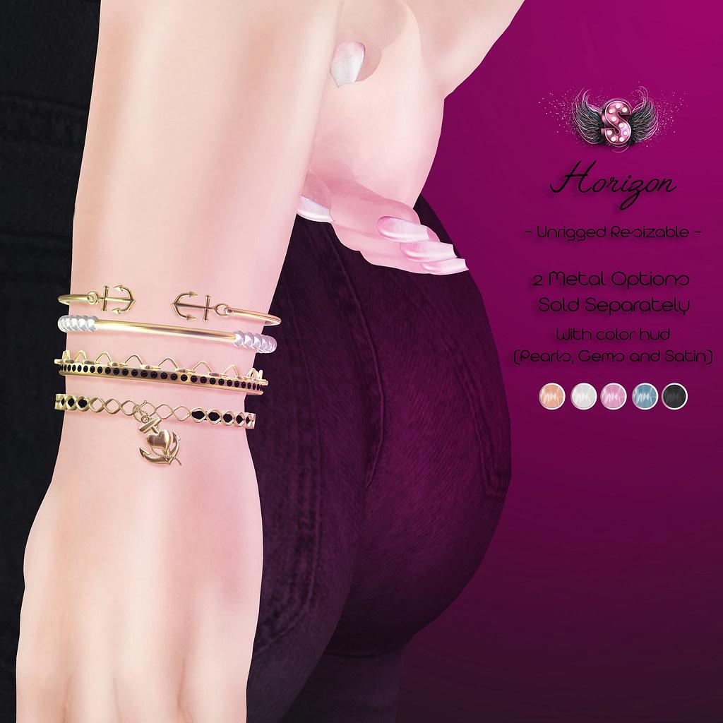 .::Supernatural::. Horizon Bracelet @Cosmopolitan - SecondLifeHub.com