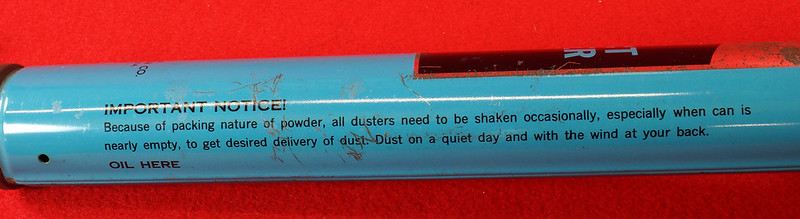 RD9051 Vintage Pump Sprayer Insect Duster Rawleigh Products Co.- Freeport, Ill. DSC08040