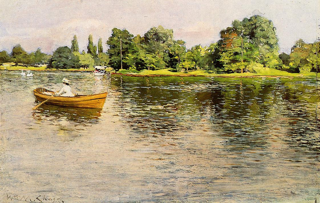 Summertime by William Merritt Chase, 1886