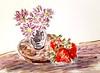 un petit bouquet de printemps