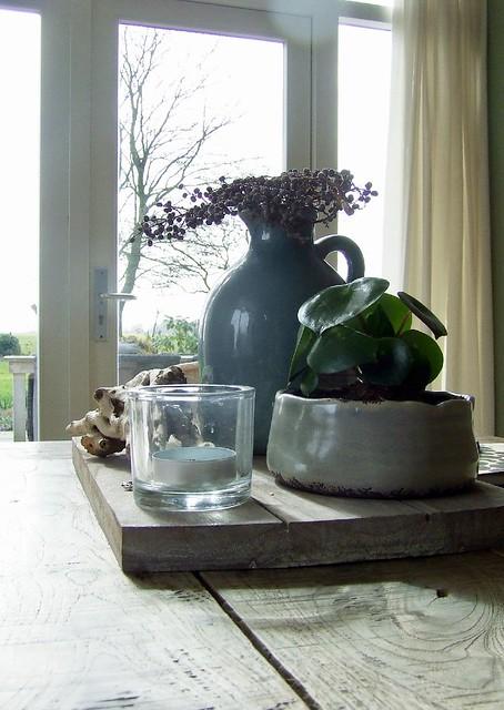 Dienblad salontafel