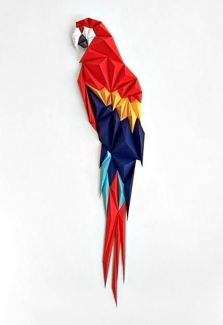 ALTA Papercraft Macaw